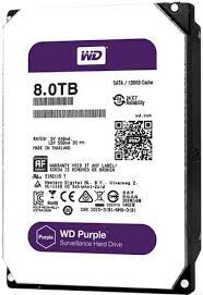Жесткий диск 3.5' 8TB Western Digital Purple (WD80PURZ)