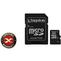 Карта памяти Kingston 8Gb microSDHC class 4