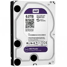 Жесткий диск 3.5' 6TB Western Digital Purple WD60PURX