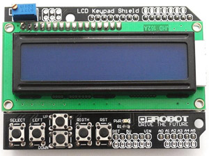 Arduino LCD 16х2 Keypad Shield