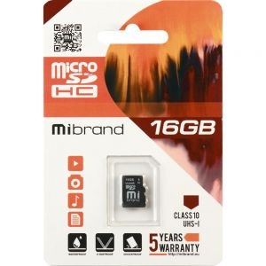Карта памяти Silicon Power 4Gb microSDHC Class 4